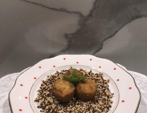 Veganske kroglice s kvinojo